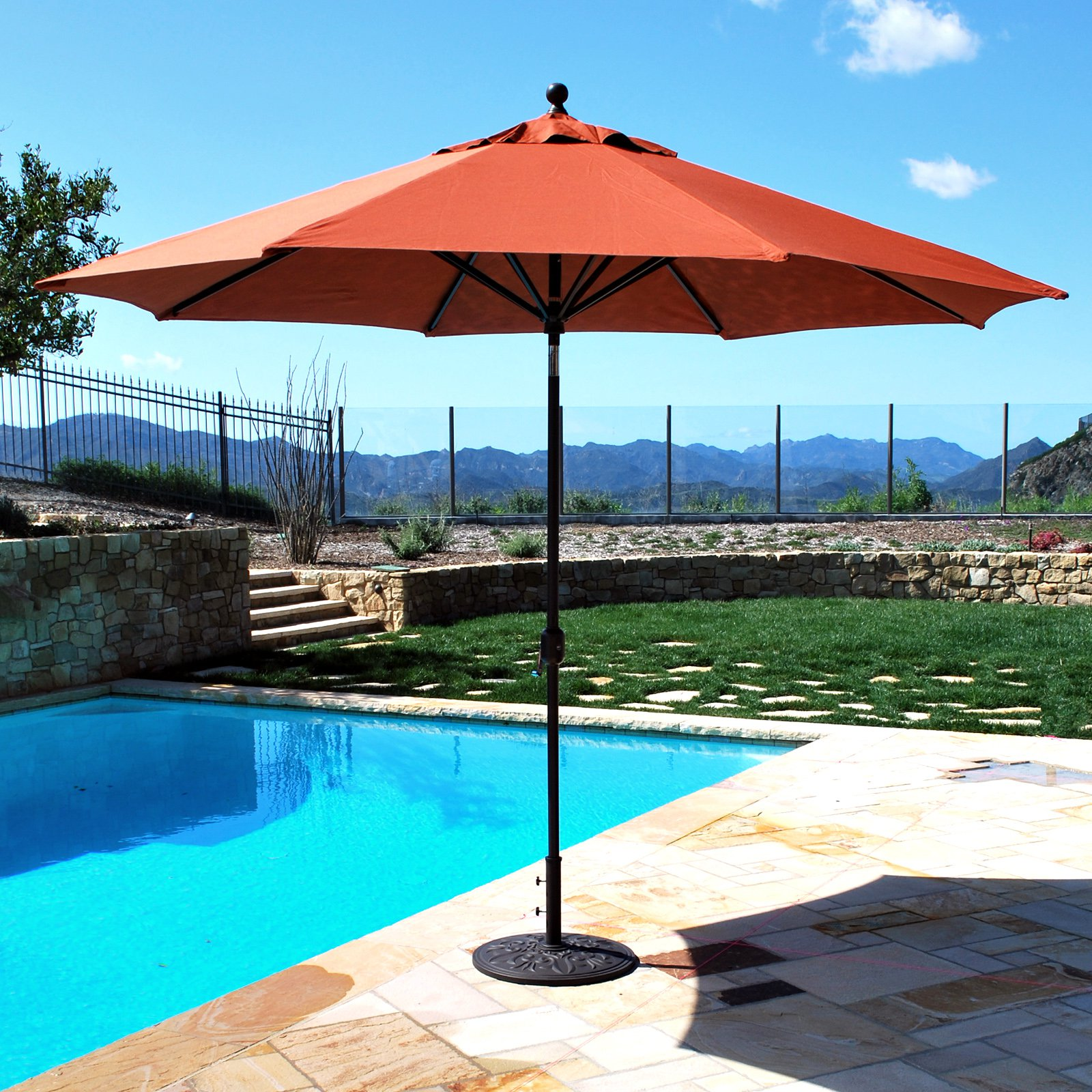 11 Ft Patio Umbrella | Costco Offset Umbrella | Nautica Umbrella