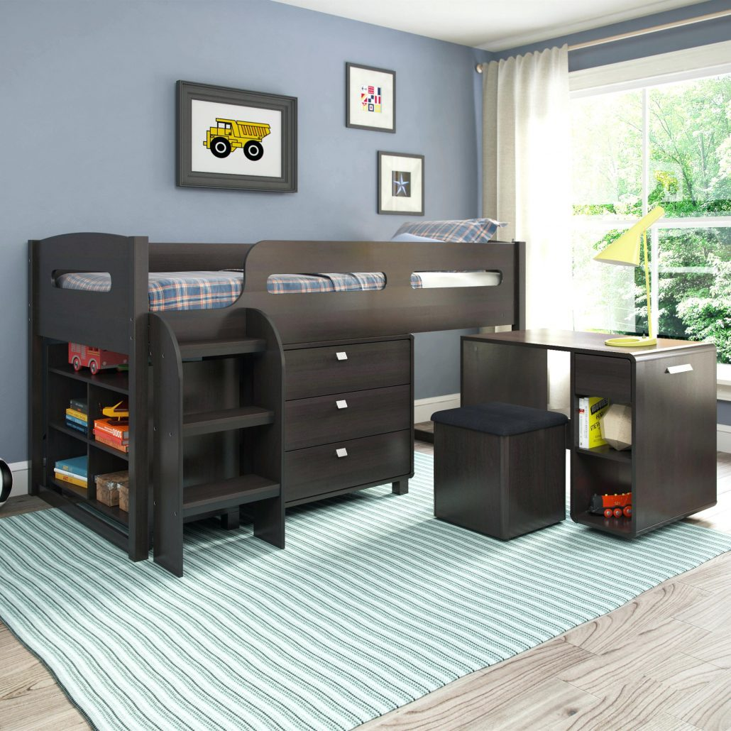 4 Bed Bunk Bed | Bunk Beds For Small Rooms | Space Saver Bunk
