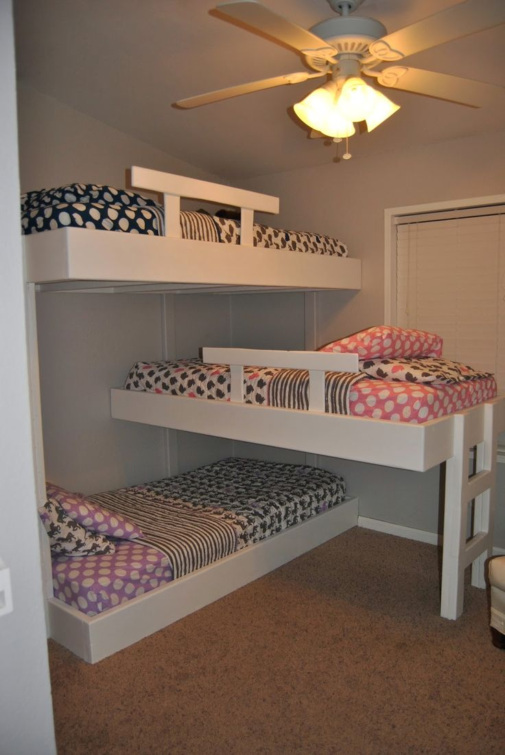 4 Bed Bunk Beds | Bunk Beds for Teenager | Bunk Beds for Small Rooms