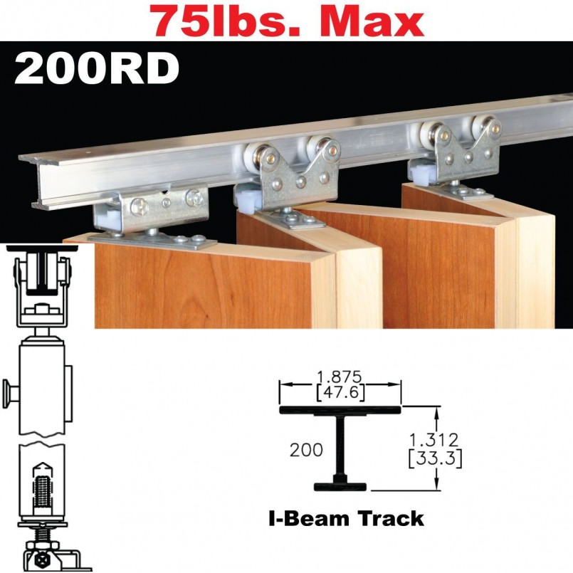 Accordion Door Hardware | 34 Bifold Door | Bifold Door Track Parts