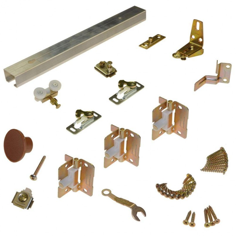 Accordion Door Hardware | Johnson Bifold Door Hardware | Bifold Door Parts