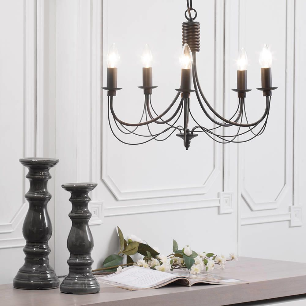 Glamour Gothic Chandelier with Unique and Antique Design: Adorable Italian Wrought Iron Chandeliers Inspirations | Awesome Gothic Chandelier