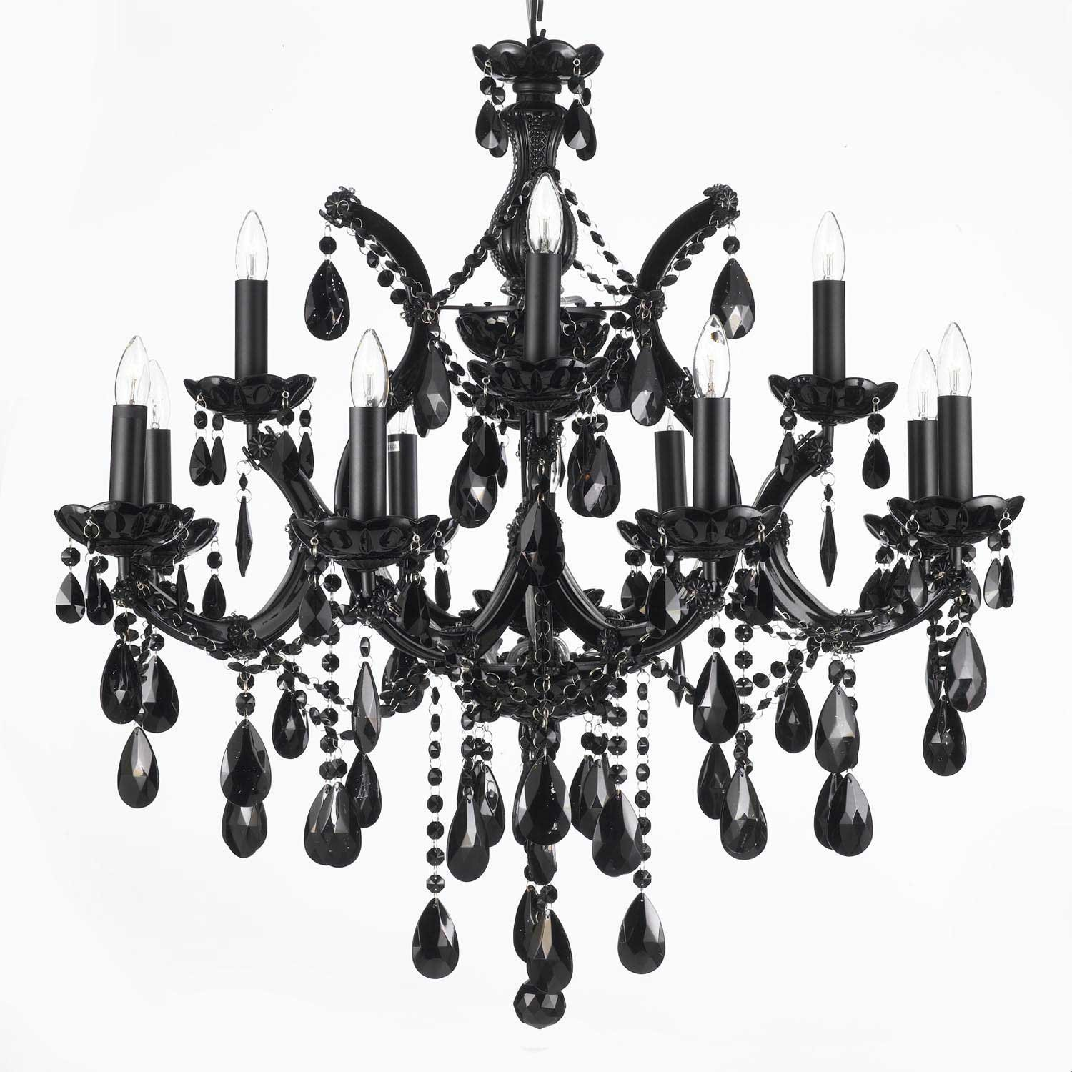 Amazing Spanish Style Lighting Fixtures | Charming Gothic Chandelier Design