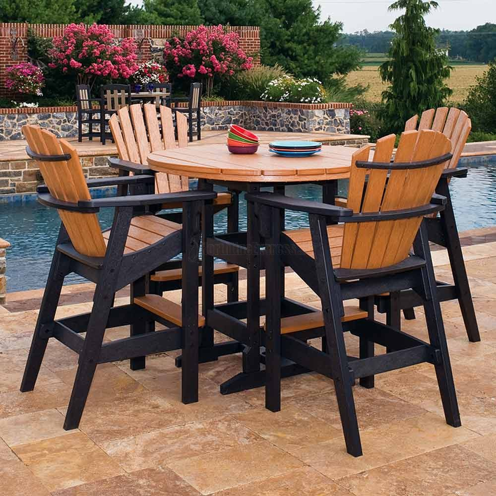 Bar Height Patio Sets Bistro Furniture Lowes Outside
