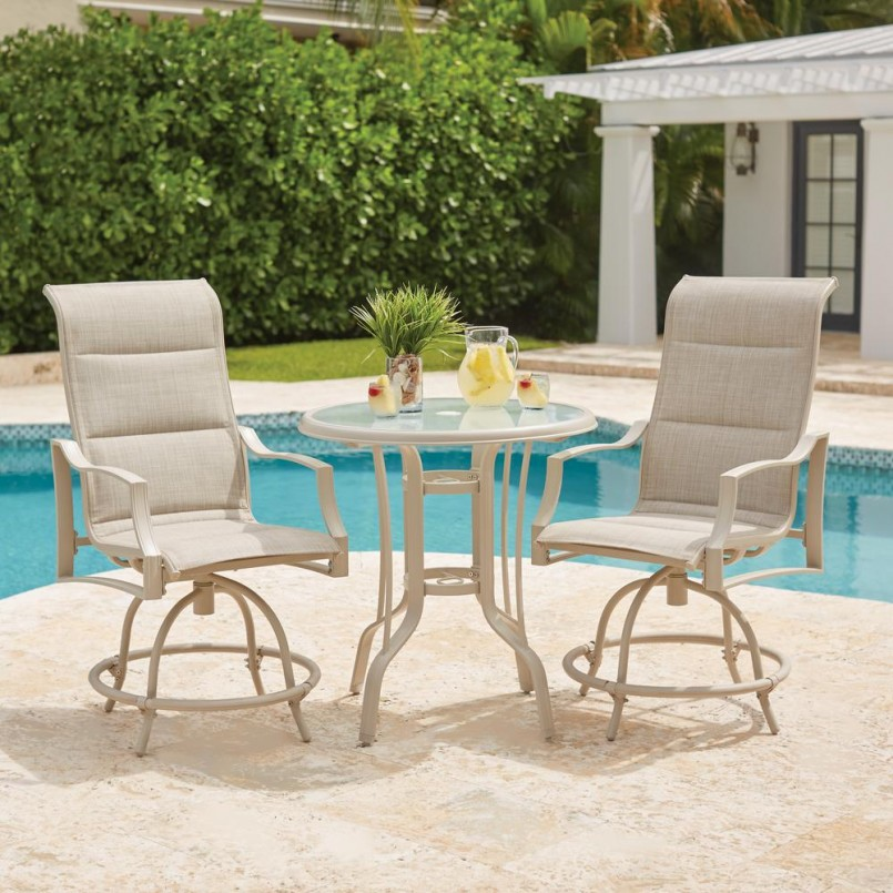 Bar Height Patio Sets | Bistro Patio Set Bar Height | Lowes Patio Set