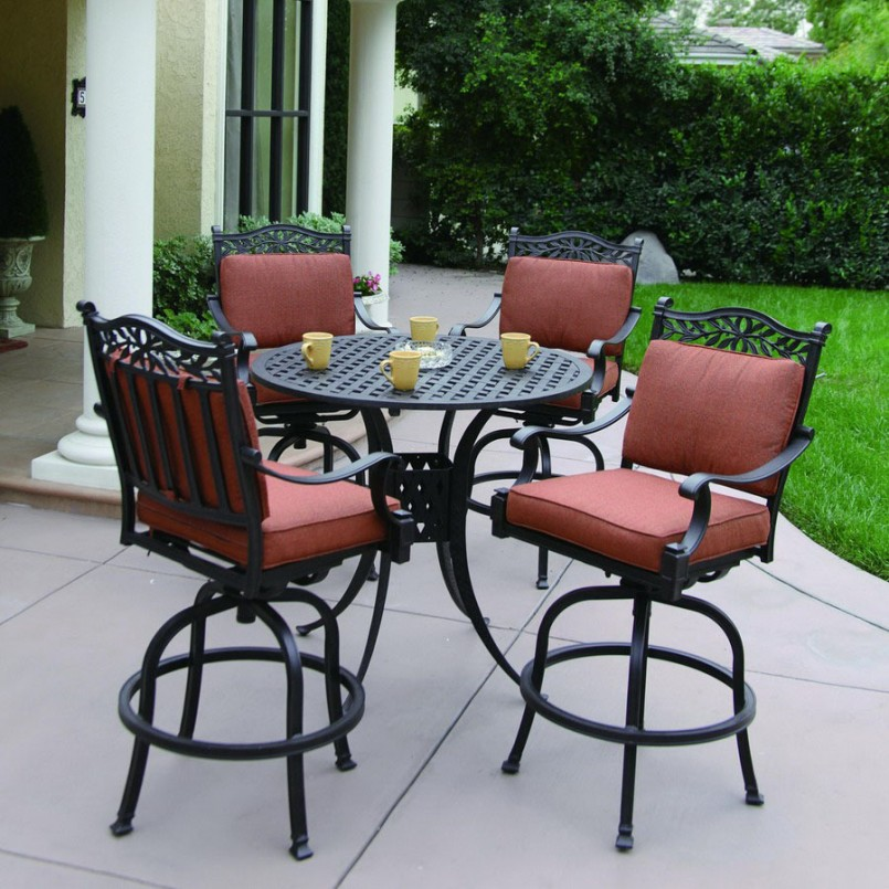Bar Height Patio Sets | Bistro Sets On Sale | Lowes Outdoor Table And Chairs