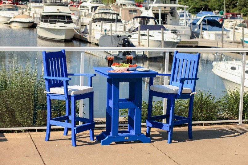 Bar Height Patio Sets | High Top Bistro Set | Bistro Sets