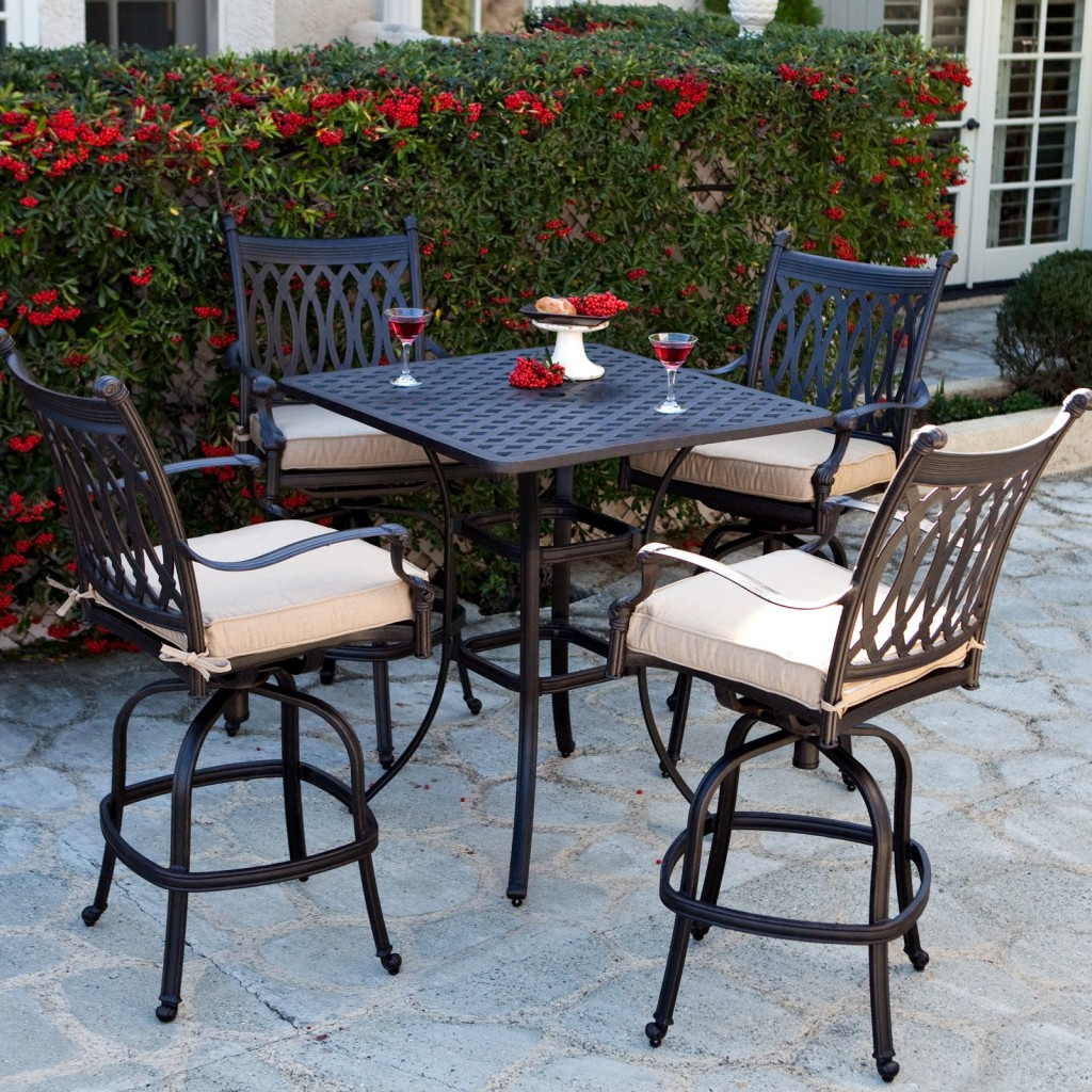 Bar Height Patio Sets | Patio Bar Sets Clearance | Square Patio Dining Table