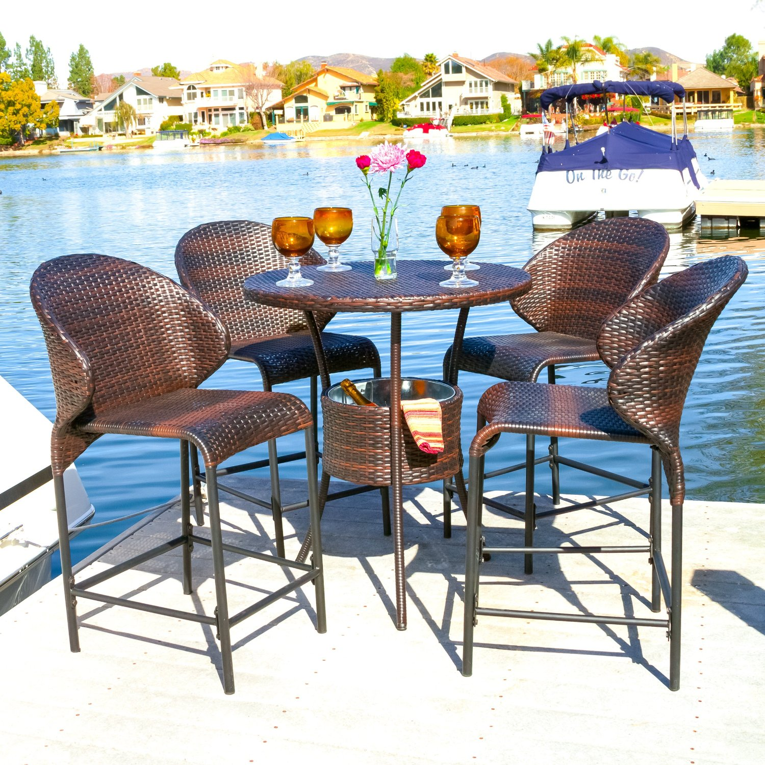 Bar Height Patio Sets | Patio Furniture Target | Bistro Patio Set Bar Height