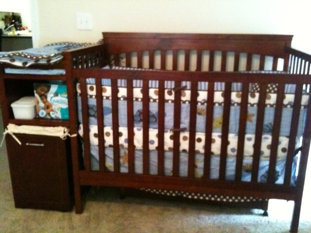 Bassett Baby Crib | Baby Crib and Dresser Set | Baby Cribs Burlington