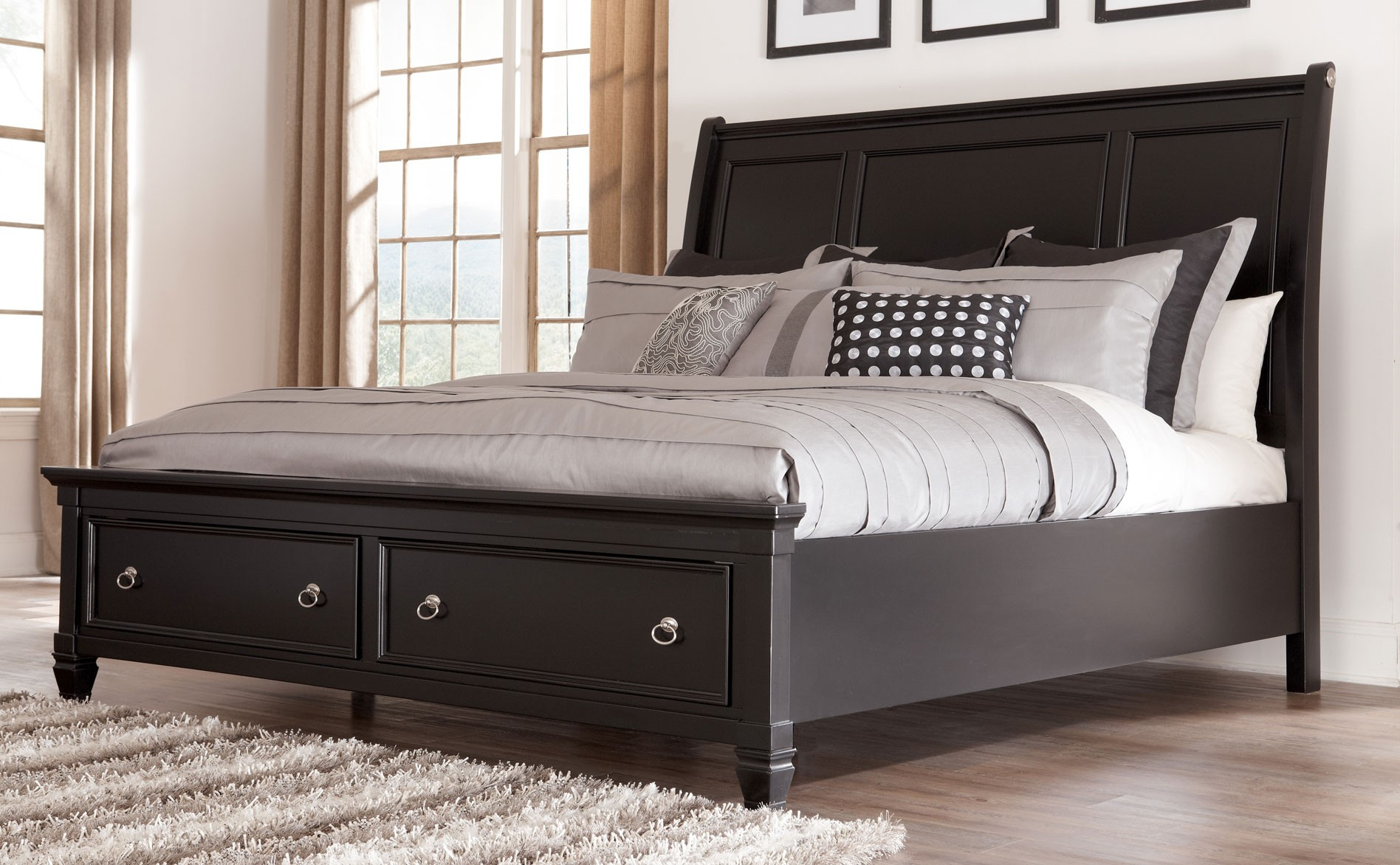 Bed Headboards for Sale | Pottery Barn Sleigh Bed | King Headboard Sale
