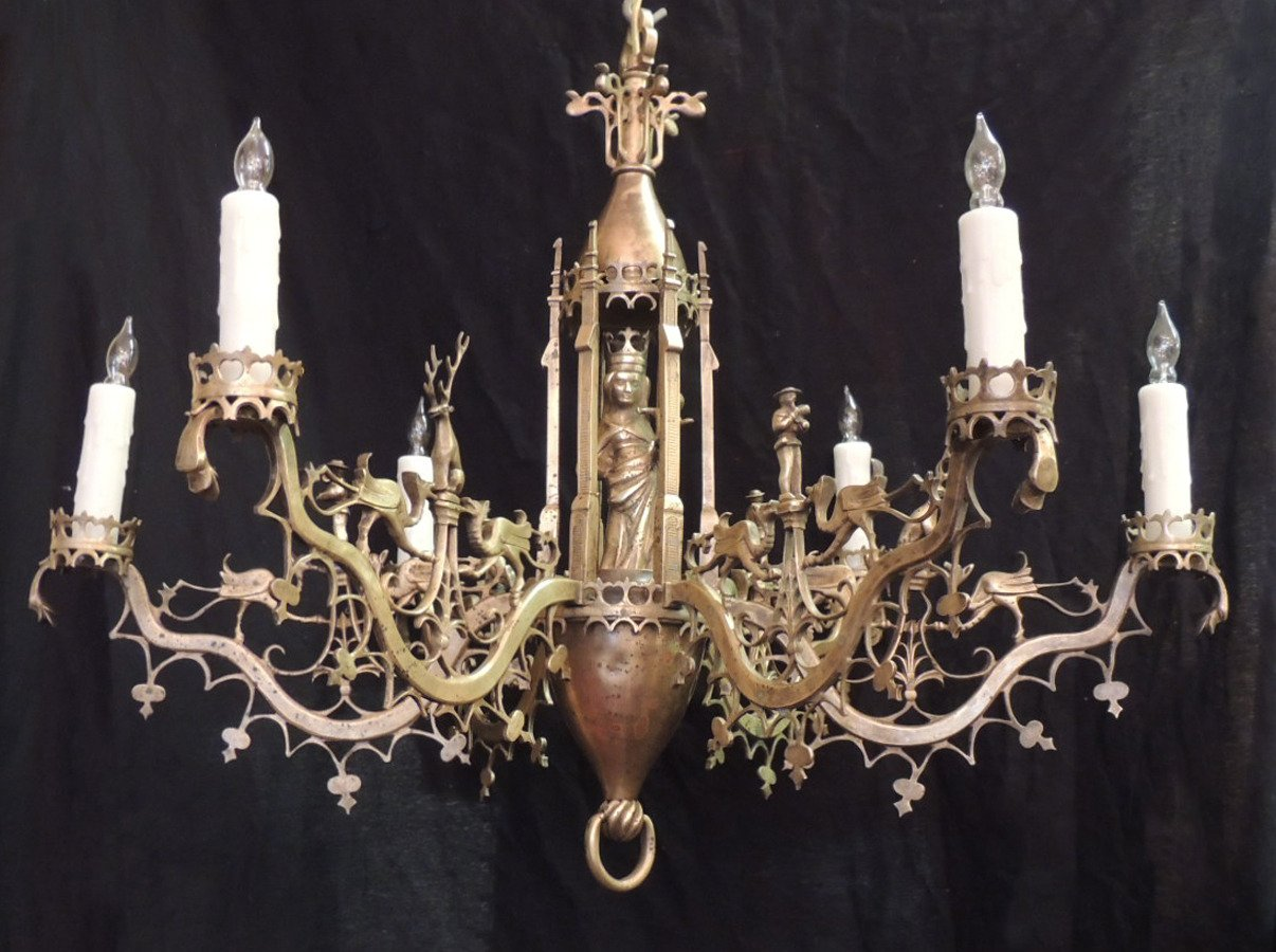 Best Gothic Chandelier | Wondrous Mexican Wrought Iron Chandelier Design