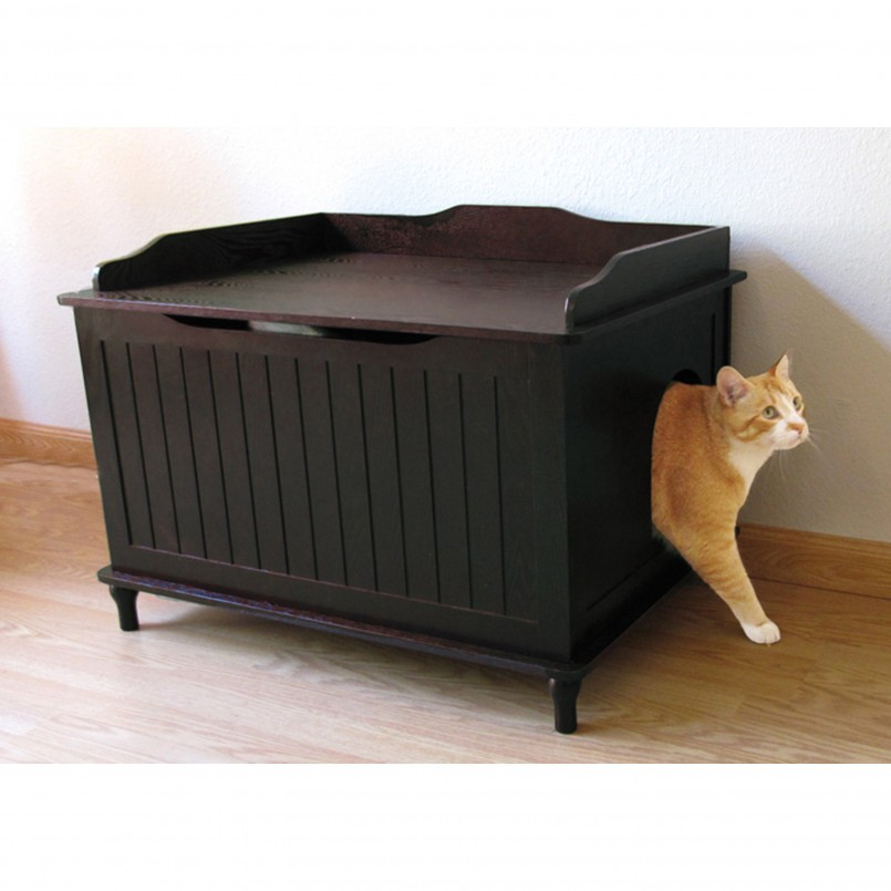 Big Cat Litter Box | Cat Litter Bench | Hidden Cat Litter Box