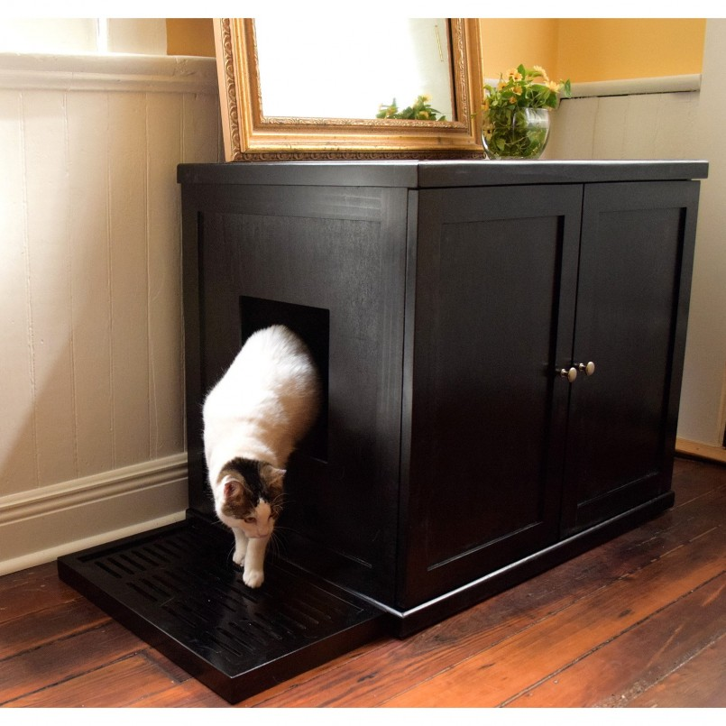 Big Cat Litter Box | Hidden Cat Litter Box | Diy Litter Box