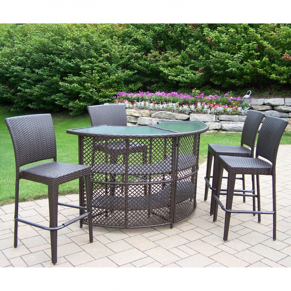3 Piece Patio Bar Set Bistro Dining Sets Target Bar Height Patio