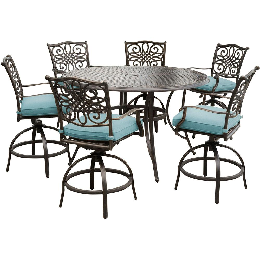 Bistro Patio Sets | Square Patio Dining Table | Bar Height Patio Sets