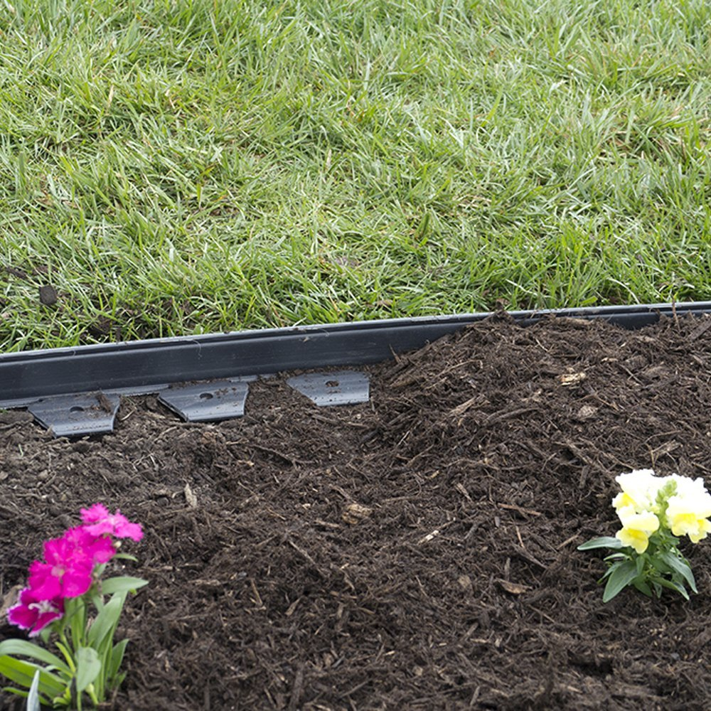 Borders for Flower Beds | Aluminum Garden Edging | Home Depot Landscape Edging