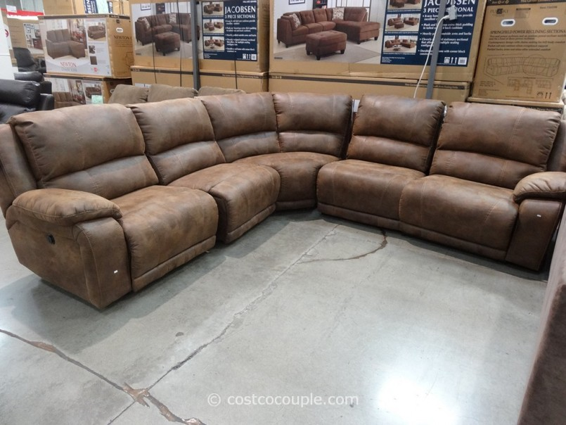 Brown Sectional Couch | Costco Leather Sectional | Costco Furniture Sale