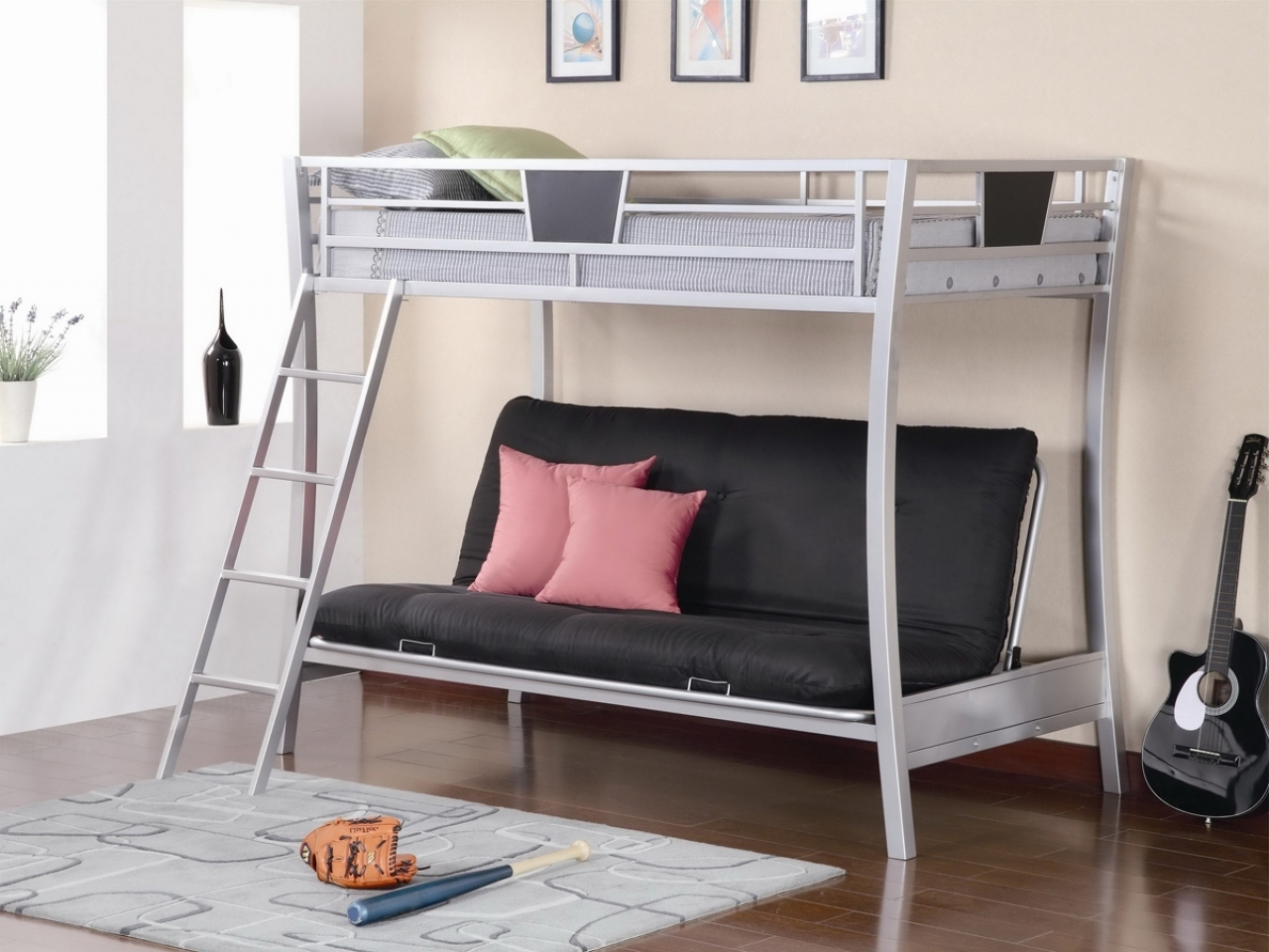 Bunk Bed With Stairs Plans | Bunk Beds For Small Rooms | Bunk Room Floor Plans