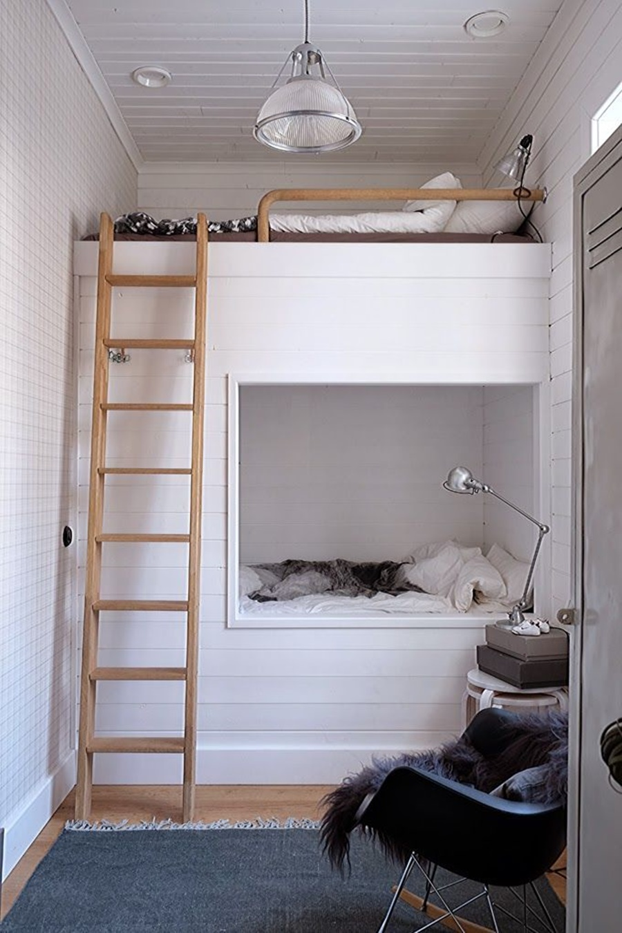 Bunk Bed with Stairs Plans | Pottery Barn Bunk Bed Reviews | Bunk Beds for Small Rooms