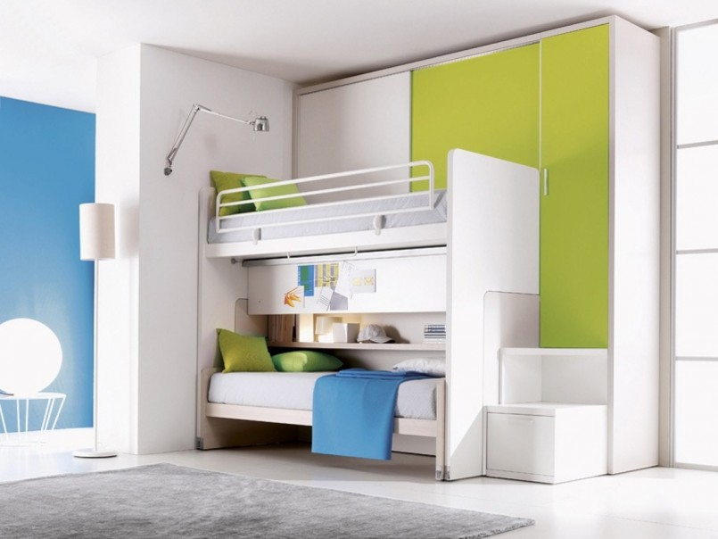 Bunk Beds For Small Rooms | Awesome Bunk Beds For Sale | Corner Bunk Bed Plans