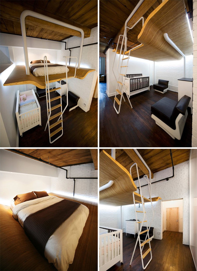Bunk Beds for Small Rooms | Beds for Triplets | Pretty Bunk Beds for Girls