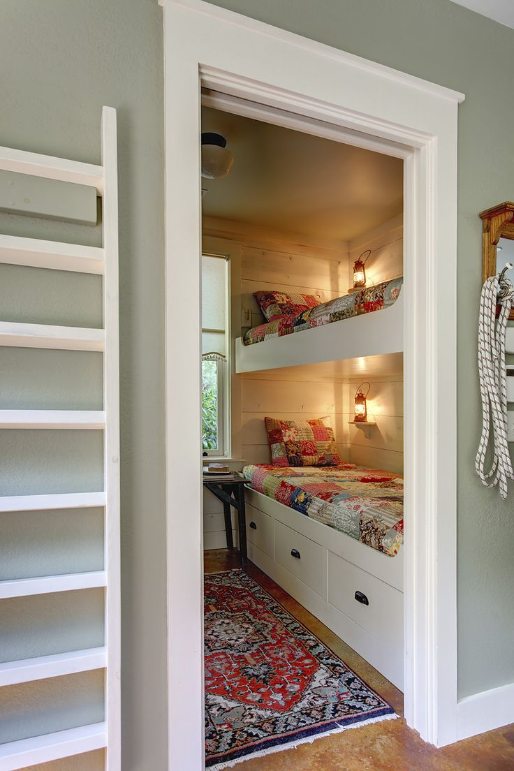 Bunk Beds for Small Rooms | Built in Bunk Beds for Small Rooms | Bunk Beds Girls Room