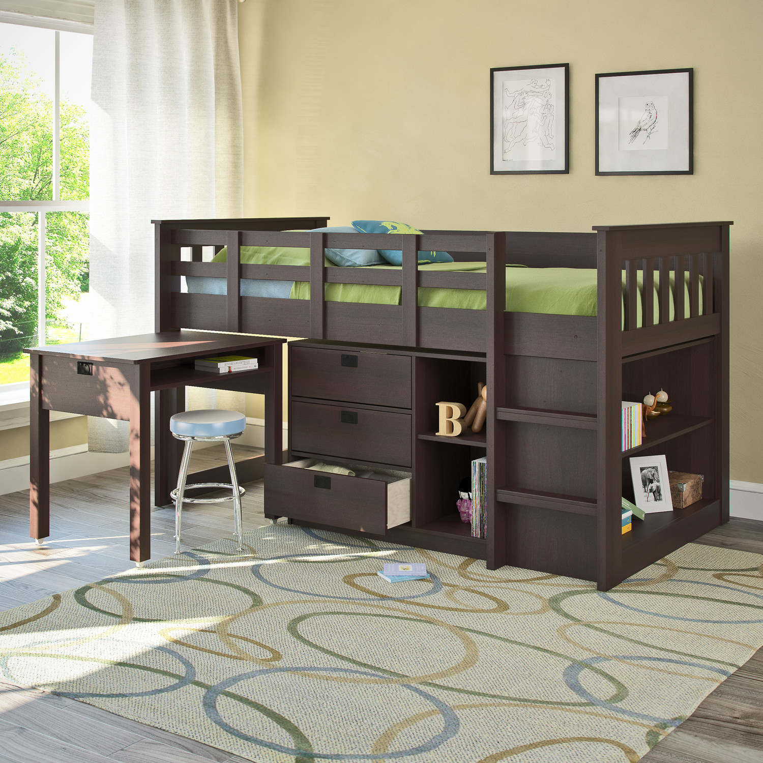 Bunk Beds for Small Rooms | Built in Bunk Beds for Small Rooms | Short Bunk Beds for Small Rooms