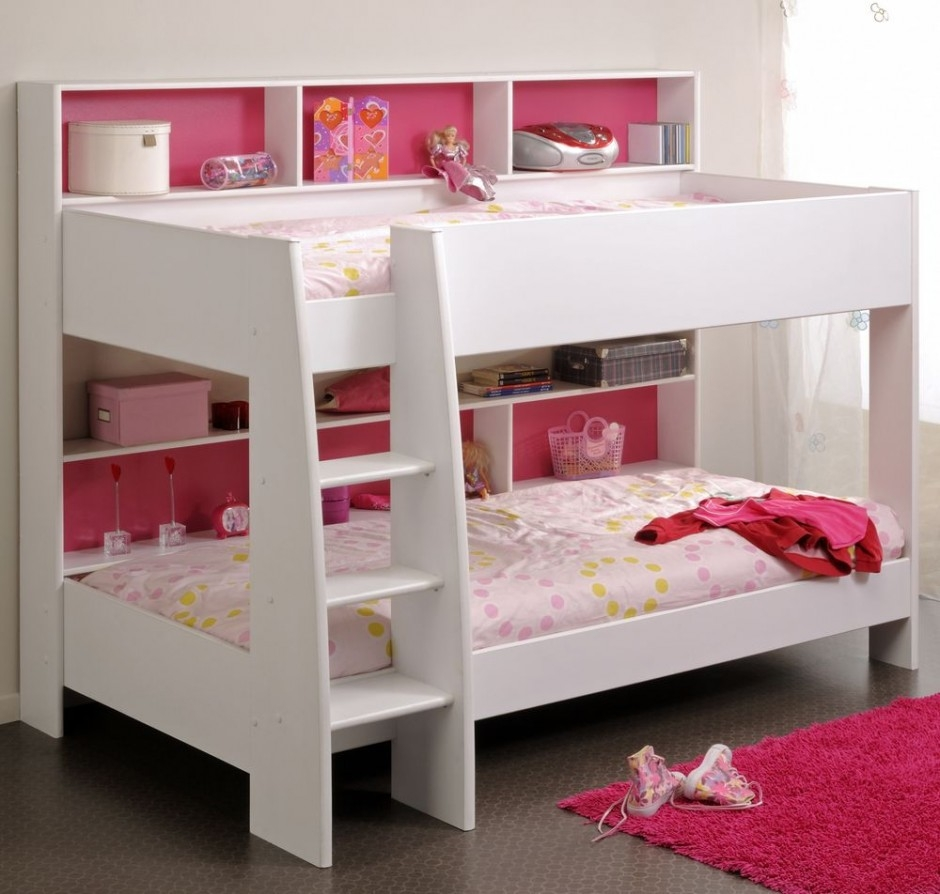 Bunk Beds for Small Rooms with Colorful Themes: Bunk Beds For Small Rooms | Bunk Bed With Closet Underneath | Bunk Beds For Teenagers