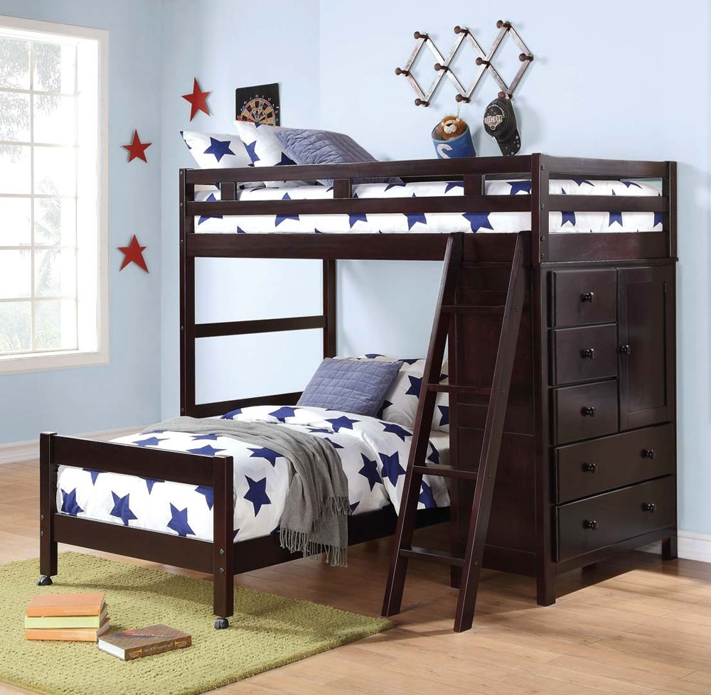 Bunk Beds For Small Rooms | Bunk Bed With Play Area | Futuristic Bunk Beds