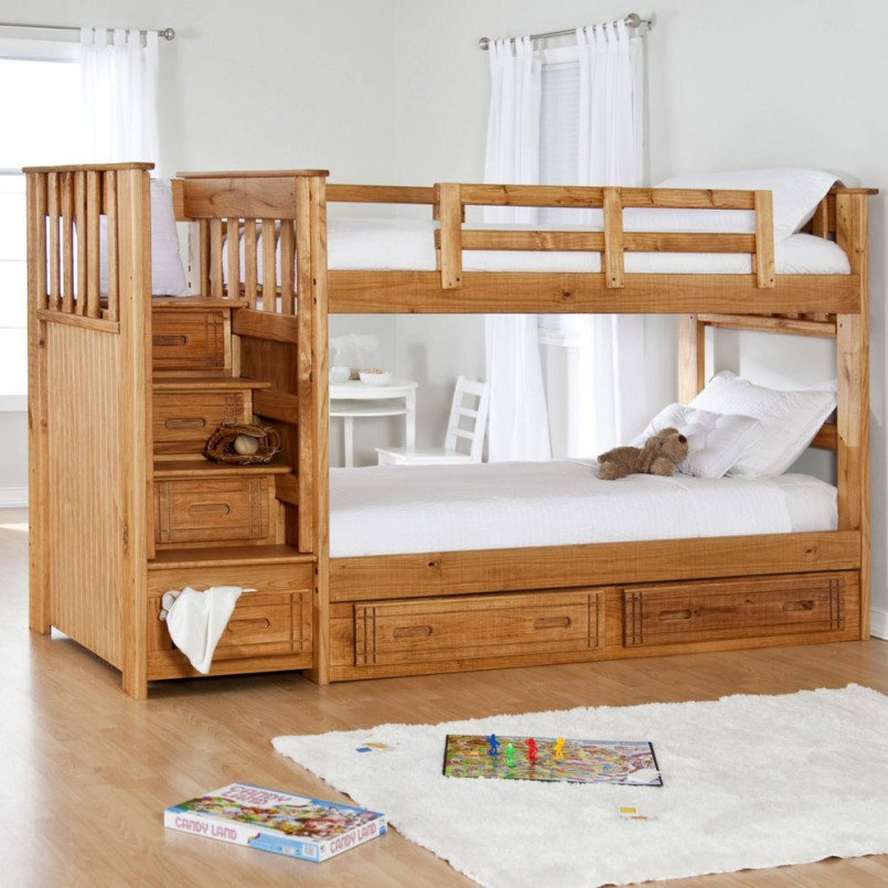 Bunk Beds For Small Rooms | Homemade Bunk Bed Plans | Bunk Bed Alternatives