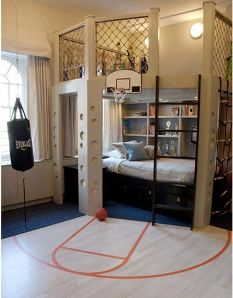 Bunk Room Floor Plans | Four Bed Bunk Bed | Bunk Beds For Small Rooms