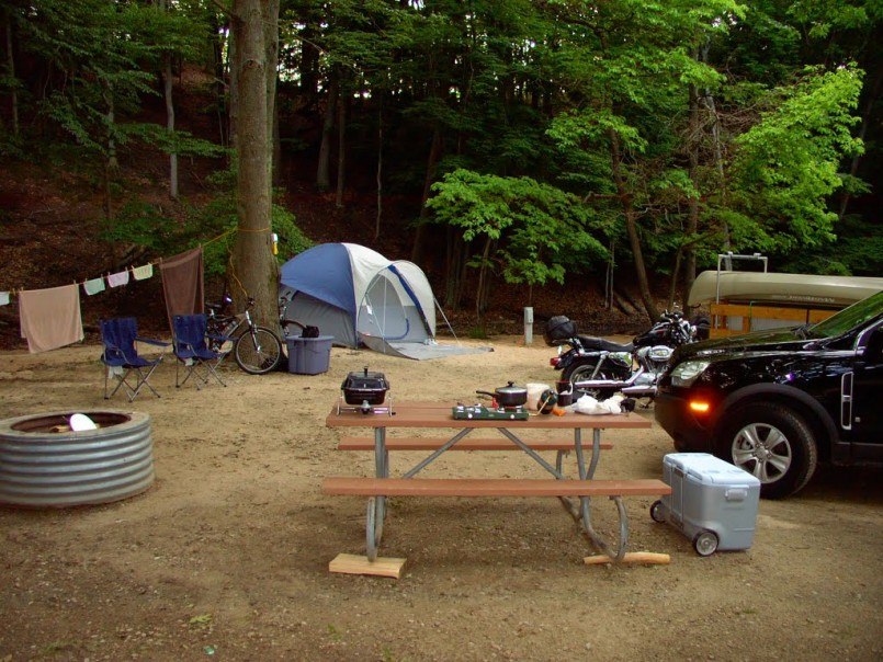 Campgrounds In West Michigan | Michigan Dnr State Parks | Ludington State Park Reservations