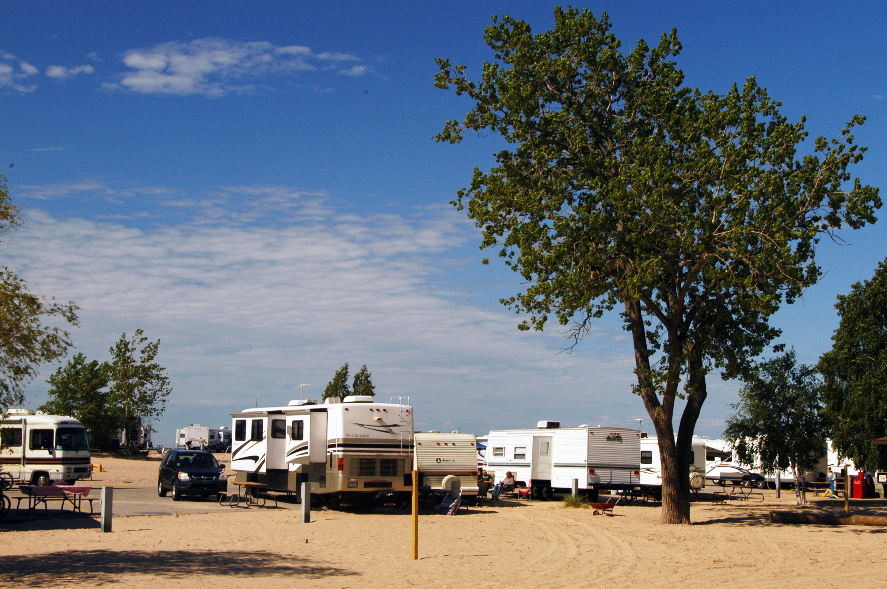 Camping Near Michigan Adventure | Grand Haven Campground |