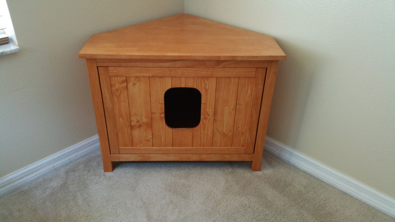 Cat Box Enclosure | Diy Litter Box | Hidden Cat Litter Box