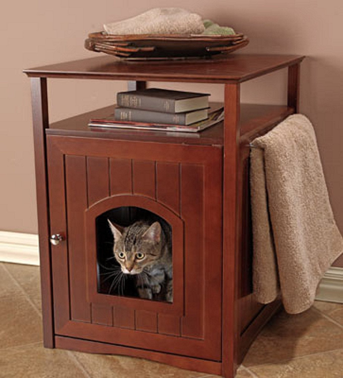 Cat Box Enclosure | Hidden Cat Litter Box | Hidden Cat Litter Box Diy