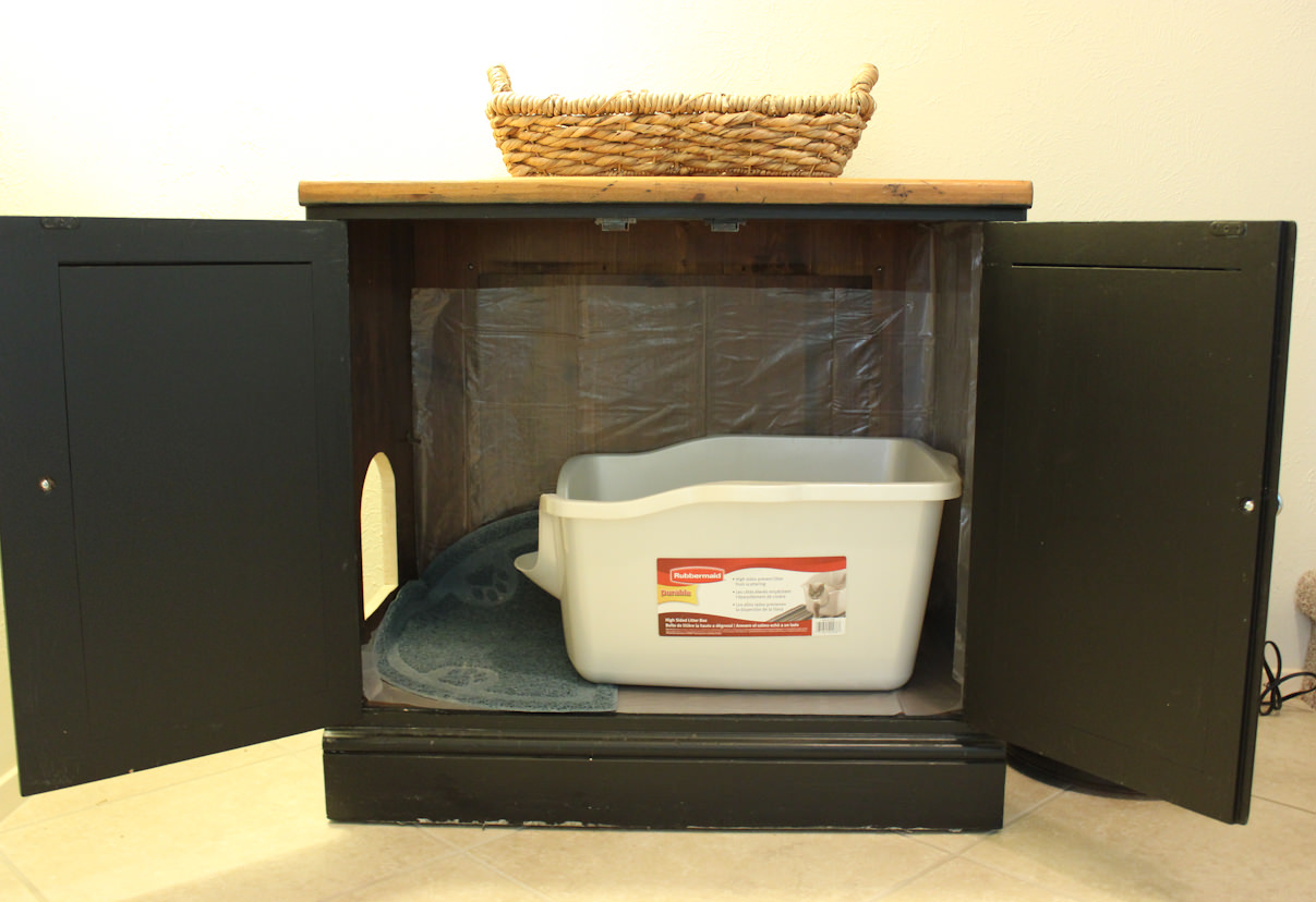 Cat Litter Boxes | Hidden Cat Litter Box | Litter Box End Table
