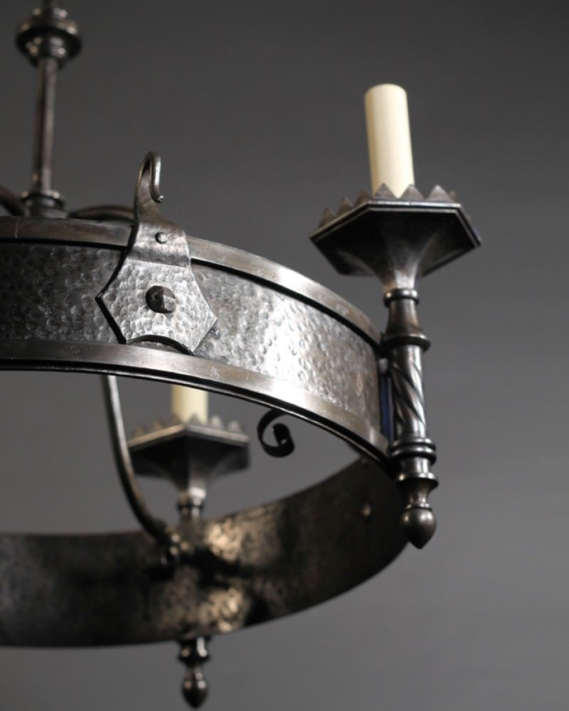 Charming Gothic Chandelier | Fabulous Hand Forged Lighting