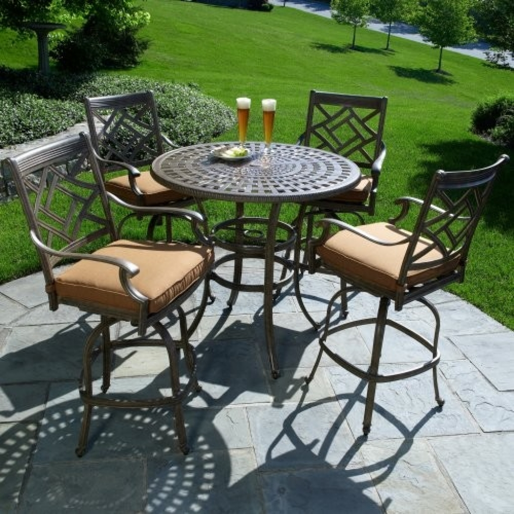 Cheap Bistro Table Set | Bar Height Patio Sets | 3 Pc Bistro Set