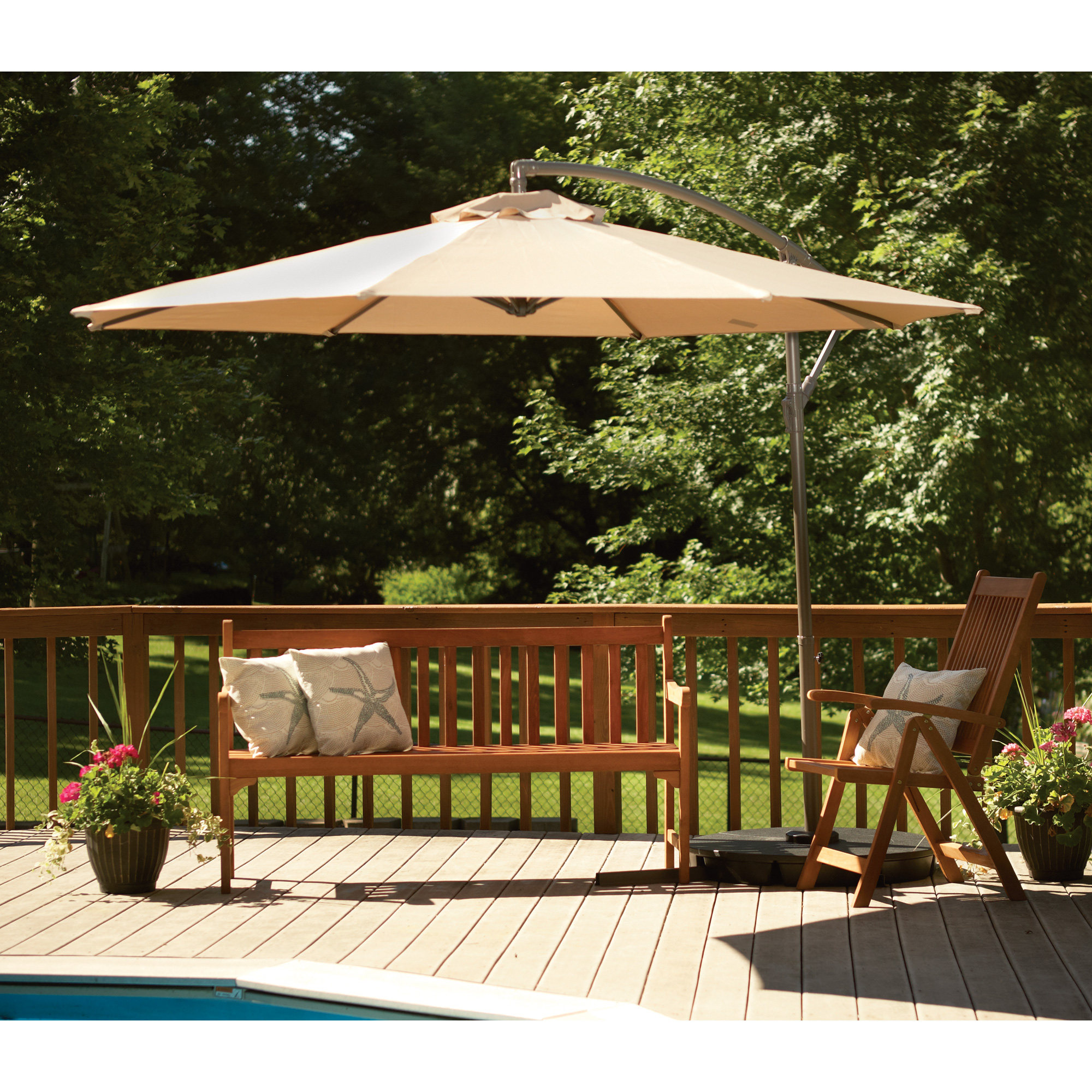 Cheap Patio Furniture Sets Under 200 | 11 Ft Patio Umbrella | Costco Offset Umbrella