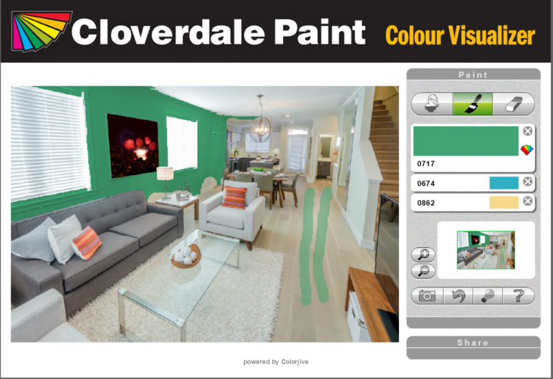 Color Visualizer | Olympic Paint Color Visualizer | Color Visualizer