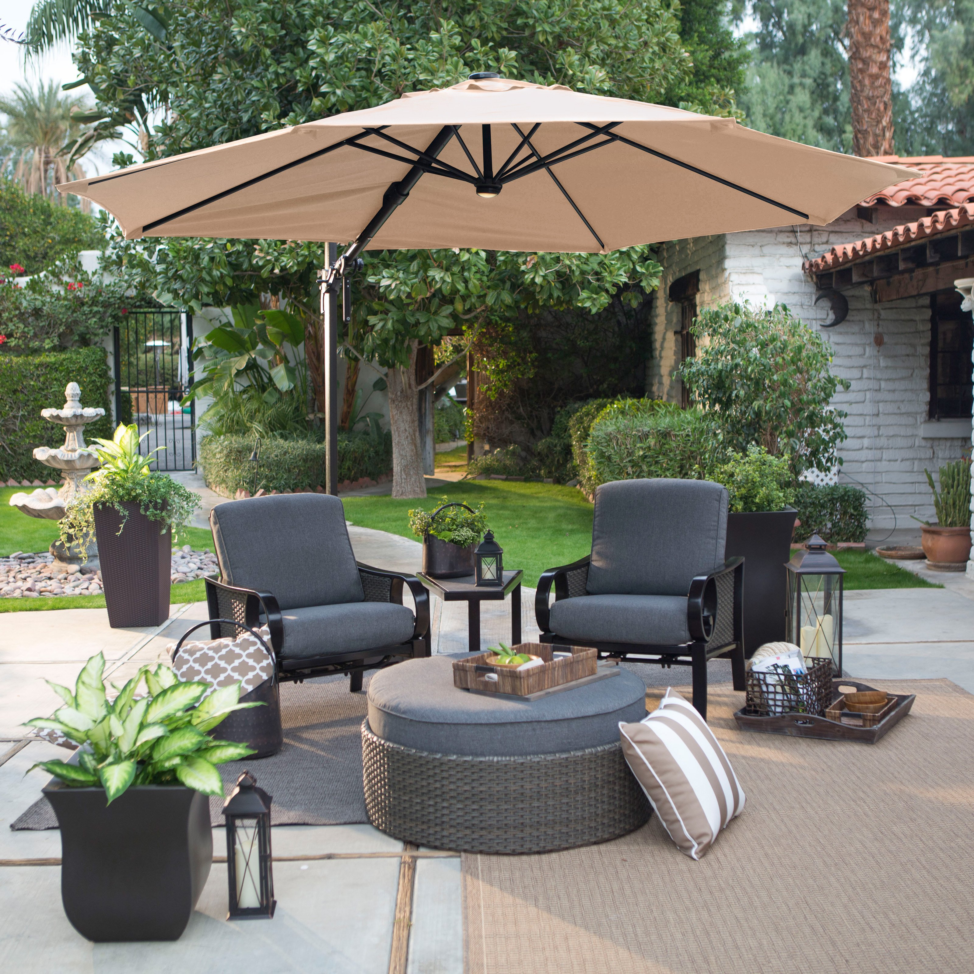 Backyard Stunning Costco fset Umbrella For Best Outdoor
