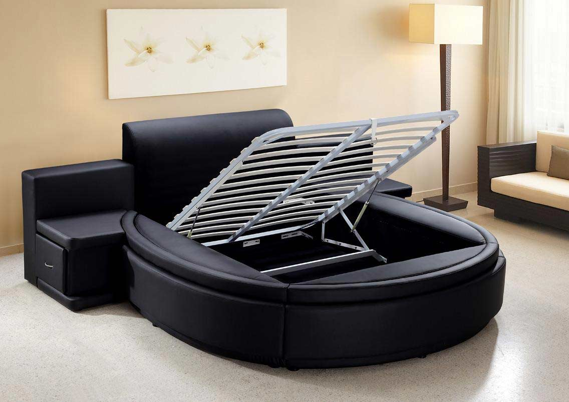 Contemporary Round Bed | Plato Round Bed | Round Beds