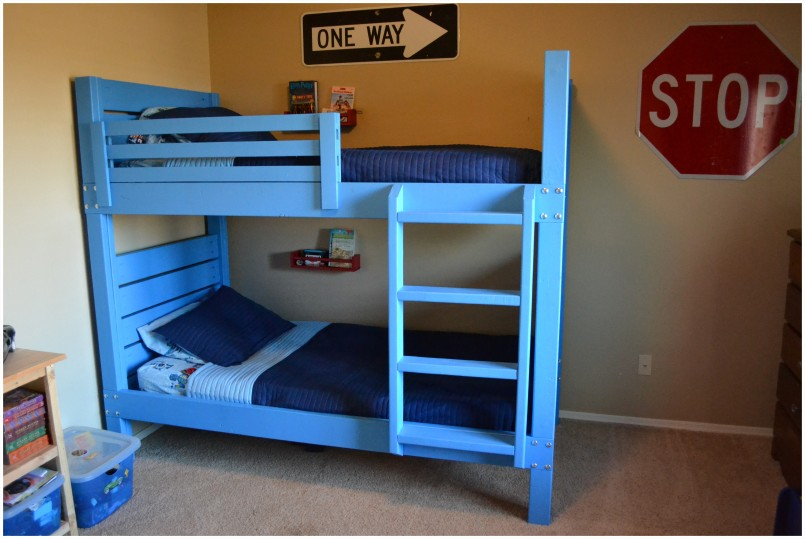 Corner Bunk Bed Plans | Bunk Bed Alternatives | Bunk Beds For Small Rooms