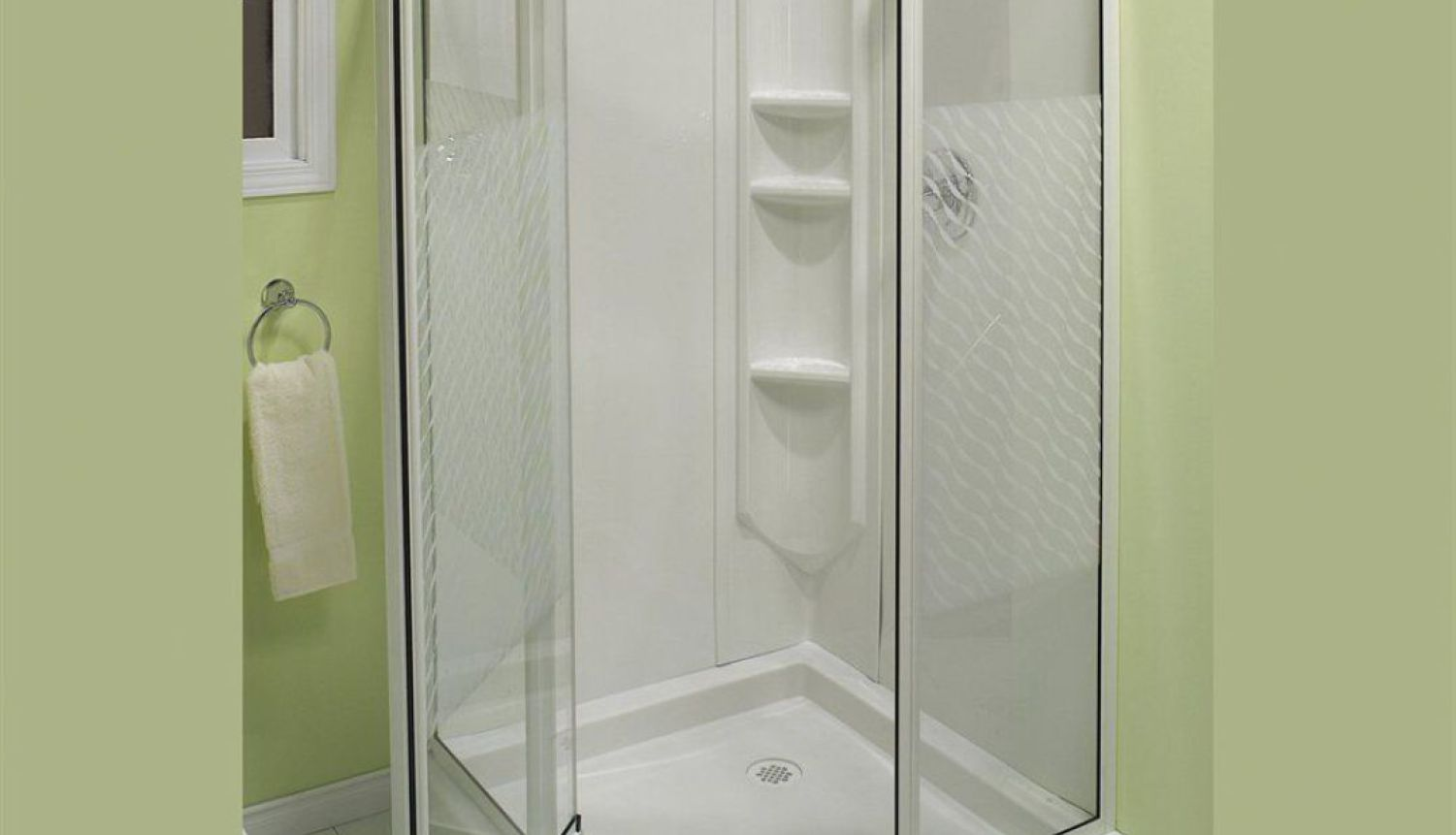 Corner Shower Stall Kits | Ada Shower Stall | Sterling Shower Stalls