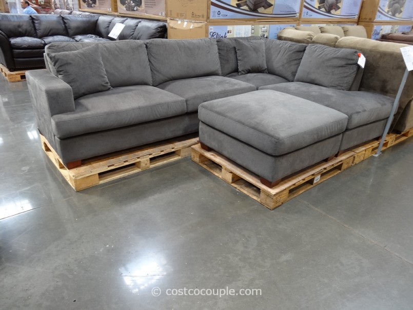 Costco Leather Sectional | Couch With Chaise Lounge | Leather Couches