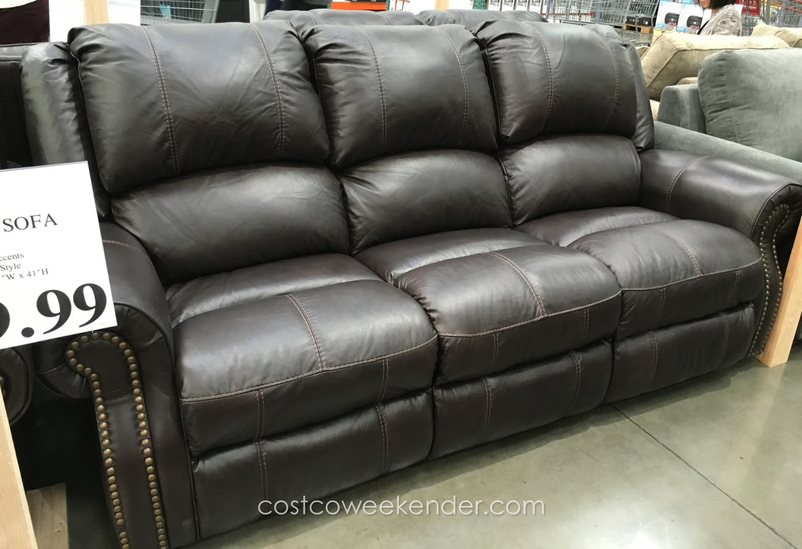 Costco Leather Sectional   Leather Sectional Costco   Costco Furniture Sofa