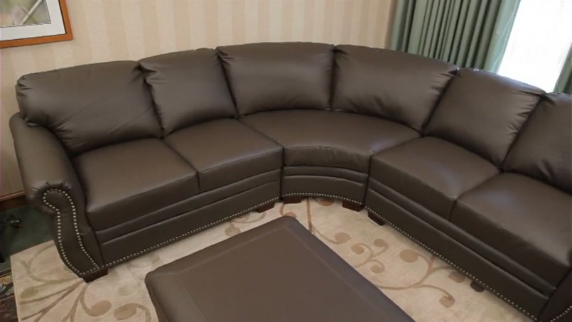 Costco Leather Sectional | Microfiber Sectional Couch | Leather Sofa Recliner