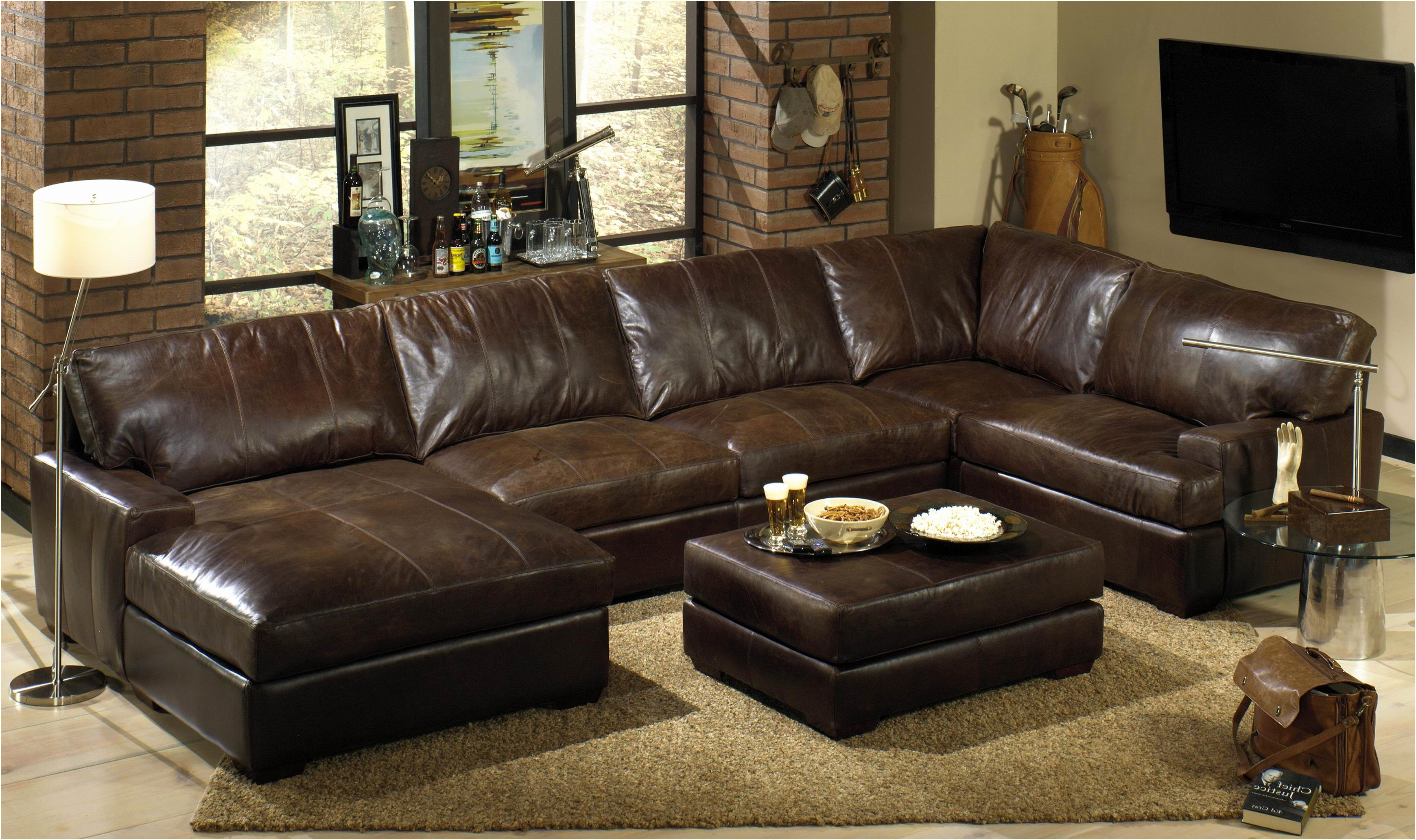 Costco Leather Sectional | Overstock Couches | 3 Piece Sectional Sofa