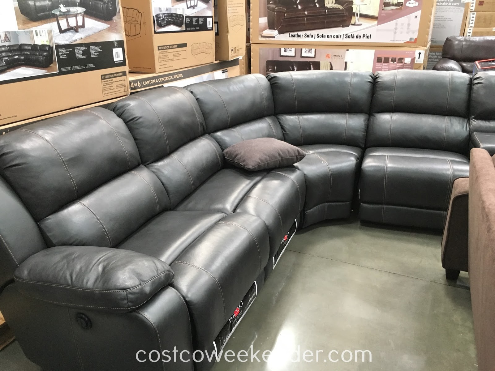 Costco Lounge Chairs | Costco Leather Sectional | Costco Leather Sectional
